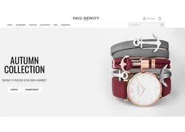 Schicke Uhren und schöne Accessoires von der Trendmarke Paul Hewitt