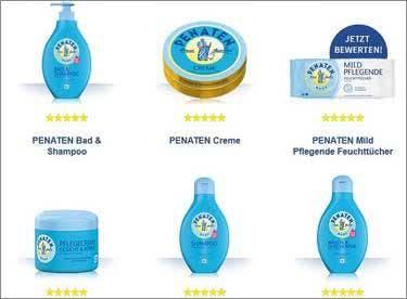 Penaten-Pflege Babys, Kinder und Mamas