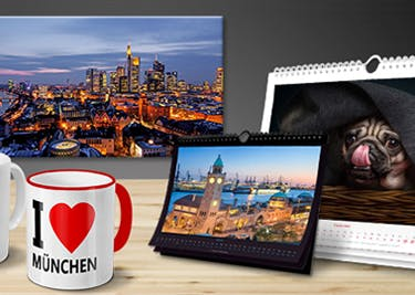PhotoFancy: Individuelle Foto-Geschenke zu kleinen Preisen