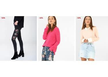Reduzierte Mode findest du rund um die Uhr im Sale-Bereich von Pimkie