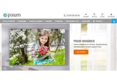 Individuelle Wandbilder, Fotobücher und mehr entdecken bei Pixum