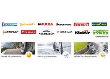 Bei PkwTeile.de bestellst du Reifen vieler namhafter Hersteller – Du hast die Qual der Wahl!