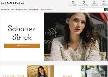 Französische Mode aus dem Promod-Onlineshop ergatterst du mit Gutschein zum Sparpreis
