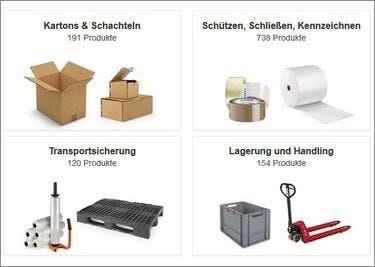 Das Sortiment bei RAJAPACK ist enorm und günstig. Sicher dir preiswertes Verpackungsmaterial.