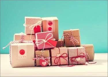 Du kannst auch verschiedene Geschenkverpackungen bei Rajapack finden.