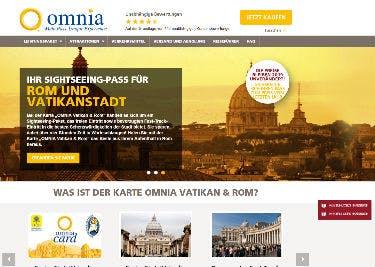 Rom-Pass-Startseite