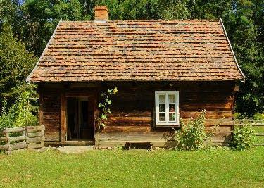 Ein romantisches Landhaus