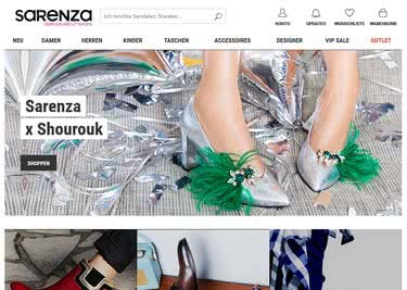 Shoppe mit Sarenza-Gutschein zum kleinen Preis