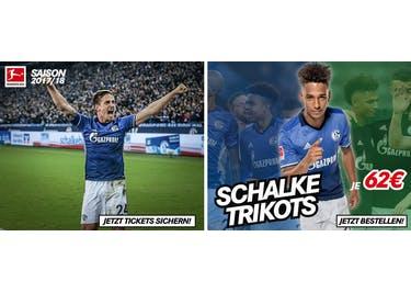 Im Fanstore von Schalke 04 findest du zig tausend Fanartikel