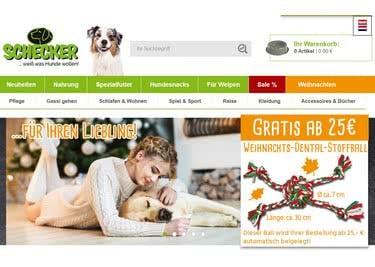 Bei Schecker findest du alles für deinen Hund und sparst zudem mit einem Schecker-Gutschein