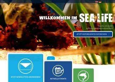 Sea Life Startseite