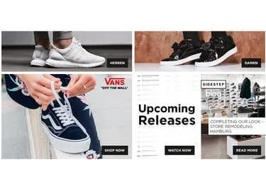 Bei Sidestept findest du Sneaker angesagter Marken, die du dir mit Gutschein günstiger sicherst