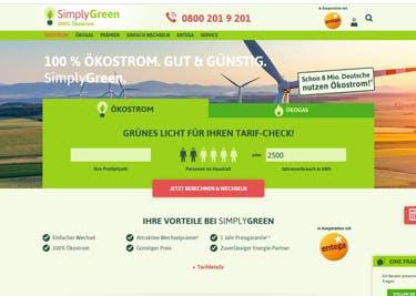 Jetzt zu Simply Green wechseln und sparen