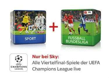Erlebe dank des Sky-Abos die Bundesliga-Spiele hautnah