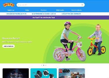 Neueste Angebote auf der Startseite von Smyths Toys