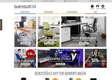 Mit Gutscheinen sparen bei Buerostuhl24