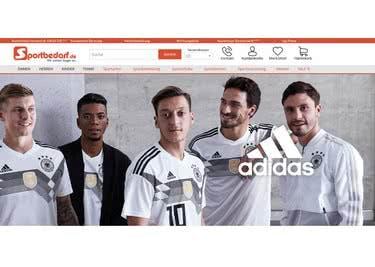 Bestelle Sportbekleidung, Sportschuhe und mehr mit einem Sportbedarf.de-Gutschein günstiger