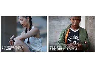 Bei SportScheck findest du nicht nur funktionelle Sportbekleidung sondern auch coole Streetwear