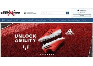 Entdecke die vielen günstigen Produkte im SportXshop