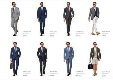 Hochwertige Herrenbekleidung von Suitsupply günstig shoppen