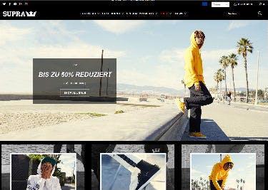 Startseite von SUPRA