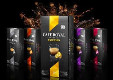 Café Royal gibt es auch für Nespresso Maschinen