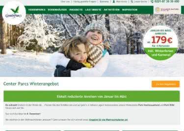 Mit einem Center-Parcs-Gutschein bei der Familienreise sparen