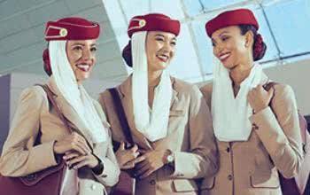 Emirates hat zahlreiche Auszeichnungen für Servicequaität gewonnen