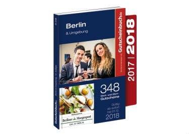 Das Gutscheinbuch gibt es für zahlreiche Regionen - z.B. für Berlin