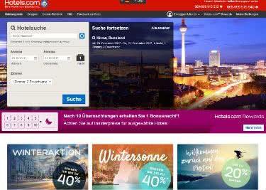 Finde auf hotels.com dein Traumhotel zu günstigen Preisen