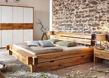 Schlafzimmermöbel aus massivem Holz kaufen