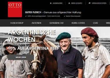 Besuche Otto Gourmet und spare beim Feinkost-Kauf