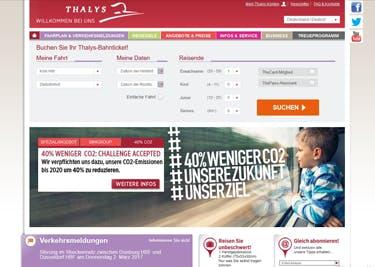 Reise bequem durch die Welt mit dem Thalys-Zug
