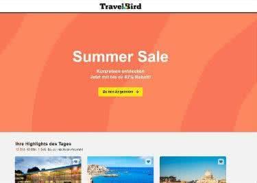 Buche deine Reise bei TravelBird