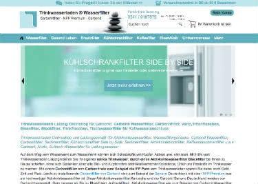 Trinkwasserladen Startseite – Spare mit einem Trinkwasserladen-Gutschein bei deinem Einkauf!