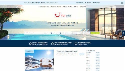 Hier findest du Gutscheine für TUI Villas