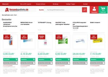Mit einem Versandapotheke.de-Gutschein bestellst du freiverkäufliche Arzneien günstiger