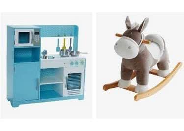 Neben Bekleidung findest du auch schönes Spielzeug für Kinder auf vertbaudet.de