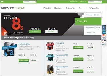 VMware Startseite