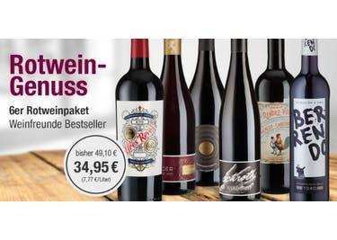 Sicher' dir deinen Rabattcode, um Rot- und Weißweine vergünstigt zu bestellen