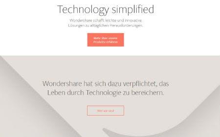 Wondershare bietet die richtige Software für jeden