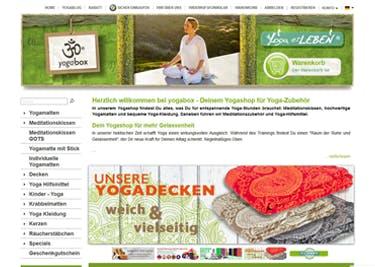 Finde bei yogabox alles, was du für entspannte Yoga-Stunden brauchst und spare mit einem Rabattcode