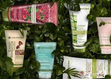 Spare bei der Bestellung deiner Beautyprodukte Yves-Rocher-Gutschein