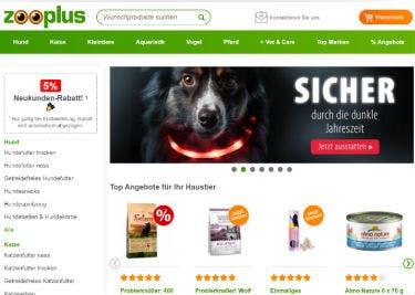 Entdeckt brandneue Produkte und Aktionen bei Zooplus