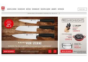 Küchenhelfer, Geschirr und Messer von der Qualitätsmarke ZWILLING, bestellst du mit einem Gutschein günstiger