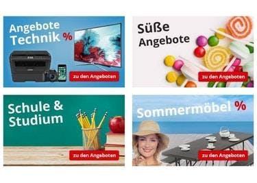 Der Onlineshop hat viele tolle Kategorien und noch mehr Büromaterial!