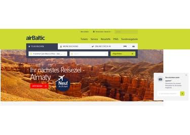 Wohin möchtest du fliegen? Buche jetzt bei airBaltic!