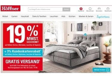 Möbel Höffner Gutscheine 10 Rabatt Juli 2019 Sparwelt