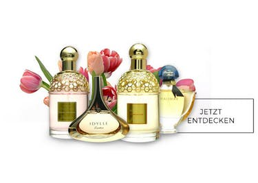 Bei der großen Auswahl an Parfums, findest du deinen neuen Lieblingsduft