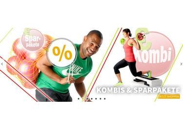 Nimm an den wechselnden Rabattaktionen im Onlineshop teil und klicke dich durch den Sportlädchen-Sale